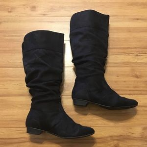 Soda brand slouchy boots